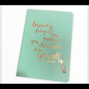 COCO CHANEL inspiration quote notebook 🔥HOT🔥